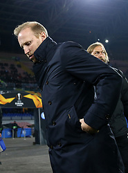 February 21, 2019 - Naples, Italy - SSC Napoli v FC Zurich - UEFA Europa League Round of 32.Zurich manager Ludovic Magnin at San Paolo Stadium in Naples, Italy on February 21, 2019. (Credit Image: © Matteo Ciambelli/NurPhoto via ZUMA Press)