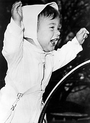 1961- JOHN F. KENNEDY JUNIOR as a baby. Exact date and place unknown. (Credit Image: © Keystone Press Agency/Keystone USA via ZUMAPRESS.com)