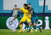SAINT PETERSBURG, RUSSIA - DECEMBER 08: Emre Can of Borussia Dortmund during the UEFA Champions League Group F stage match between Zenit St. Petersburg and Borussia Dortmund at Gazprom Arena on December 8, 2020 in Saint Petersburg, Russia. (Photo by MB Media)