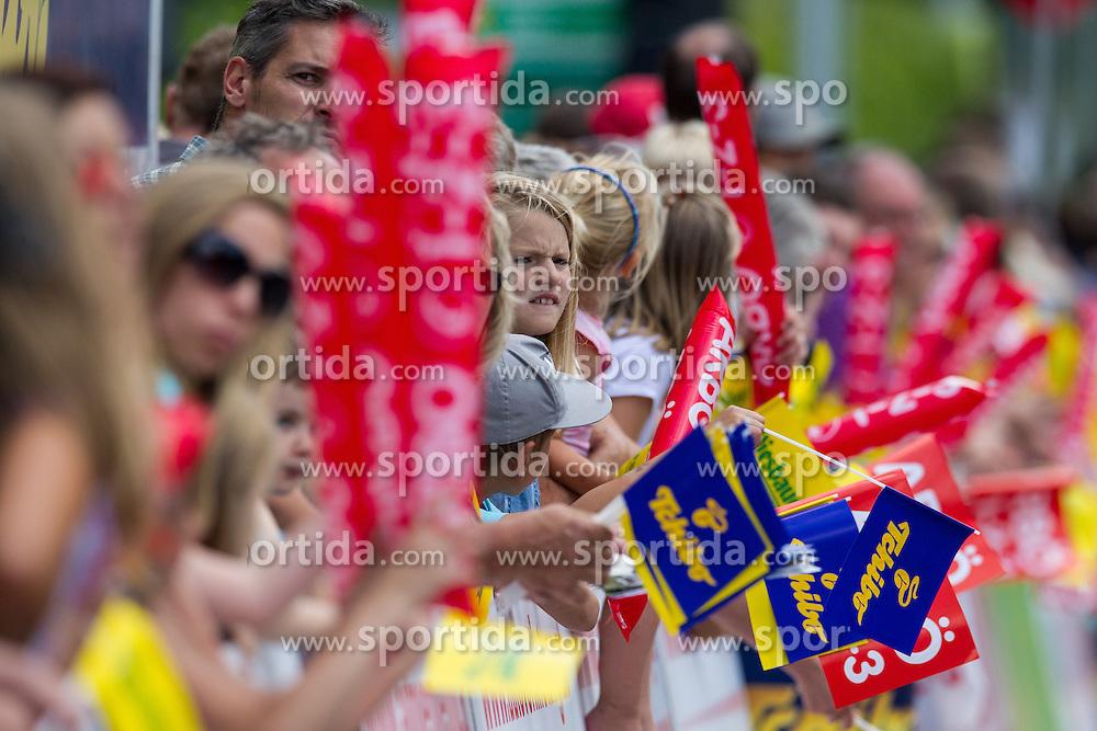 02.07.2013, Osttirol, AUT, 65. Oesterreich Rundfahrt, 3. Etappe, Heiligenblut - Matrei in Osttirol, im Bild Fans in Matrei feature // during the 65 th Tour of Austria, Stage 3, from Heiligenblut to Matrei, Tyrol, Austria on 2013/07/02. EXPA Pictures © 2013, PhotoCredit: EXPA/ Johann Groder