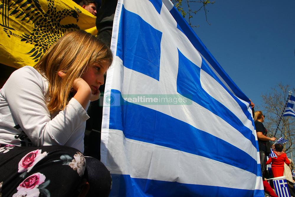 March 25, 2019 - Thessaloniki, Greece - Greeks celebrate the 25th March National Holiday in Thessaloniki, Greece on March 25, 2019. (Credit Image: © Grigoris Siamidis/NurPhoto via ZUMA Press)