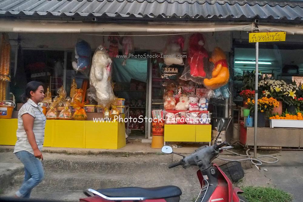 Thai woman at the market of Koh Samui, Thailand