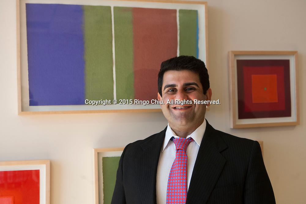Peter Shahriari, COO of Trial Funder Inc. <br /> (Photo by Ringo Chiu/PHOTOFORMULA.com)