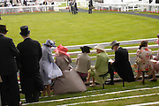 Royal Ascot Race meeting Ascot at York. Tuesday 14 June 2005. ONE TIME USE ONLY - DO NOT ARCHIVE  © Copyright Photograph by Dafydd Jones 66 Stockwell Park Rd. London SW9 0DA Tel 020 7733 0108 www.dafjones.com