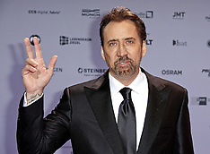 Dusseldorf - Nicolas Cage Attends The German Sustainability Award 2016 - 25 Nov 2016