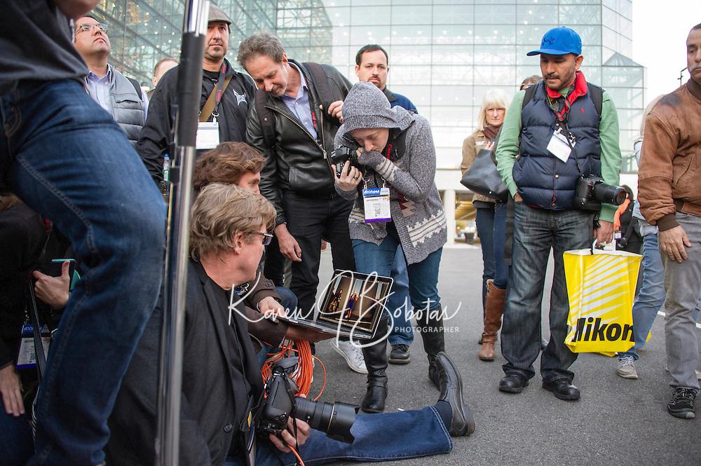 New York City   Photo Plus Expo    Joe McNally Seminar.  ©2015 Karen Bobotas Photographer