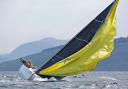 Sailing - SCOTLAND  - 26th May 2018<br /> <br /> DAY 2 Racing the Scottish Series 2018, organised by the  Clyde Cruising Club, with racing on Loch Fyne from 25th-28th May 2018<br /> <br /> GBR8543R, Jings, Robin Young, CCC, J109<br /> <br /> Credit : Marc Turner<br /> <br /> Event is supported by Helly Hansen, Luddon, Silvers Marine, Tunnocks, Hempel and Argyll & Bute Council along with Bowmore, The Botanist and The Botanist