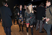 SARAH LANE; JESSICA HORWELL;  United Nude launched their London shop.  in association with TANK Magazine. Floral st. Covent Garden. London. 7 September 2011. <br /> <br />  , -DO NOT ARCHIVE-© Copyright Photograph by Dafydd Jones. 248 Clapham Rd. London SW9 0PZ. Tel 0207 820 0771. www.dafjones.com.