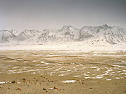 View over the heart of the Little Pamir, near Qyzyl Qorum..Winter expedition through the Wakhan Corridor and into the Afghan Pamir mountains, to document the life of the Afghan Kyrgyz tribe. January/February 2008. Afghanistan