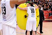 DESCRIZIONE : Trento Lega A 2014-15 Playoff Quarti di Finale Gara 1 Dolomiti Energia Trento Banco di Sardegna Sassari<br /> GIOCATORE : Toto Forray<br /> CATEGORIA : esultanza postgame curiosita<br /> SQUADRA : Dolomiti Energia Trento<br /> EVENTO : Lega A 2014-2015 Playoff Quarti di Finale Gara 1<br /> GARA : Dolomiti Energia Trento Banco di Sardegna Sassari<br /> DATA : 18/05/2015<br /> SPORT : Pallacanestro<br /> AUTORE : Agenzia Ciamillo-Castoria/M.Marchi<br /> Galleria : Lega Basket A 2014-2015 <br /> Fotonotizia: Trento Lega A 2014-15 Playoff Quarti di Finale Gara 1 Dolomiti Energia Trento Banco di Sardegna Sassari