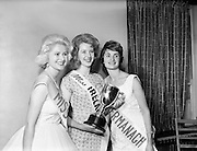 Irene Ruth Kane, winner of the Miss Ireland contest, 1960, pictured with other finalists at the Four Provinces Ballroom (later the Television Club). She came in the Top Ten in the Miss World competition.  .09.10.1960