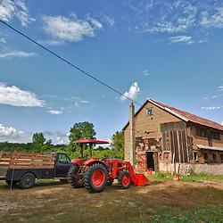 The Crimson and Clover Farm in Northampton, Massachusetts. hdr.