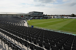 A general view of the Bristol County Ground ahead of the T20 game between Gloucestershire Cricket and Middlesex County Cricket - Photo mandatory by-line: Dougie Allward/JMP - Mobile: 07966 386802 - 15/05/2015 - SPORT - Cricket - Bristol - Bristol County Ground - Gloucestershire County Cricket v Middlesex County Cricket - NatWest T20 Blast