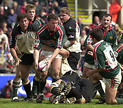 Leicester, Leicestershire, 3rd May 2003, Welford Road Stadium, [Mandatory Credit: Peter Spurrier/Intersport Images],Zurich Premiership Rugby - Leicester Tigers v London Irish<br /> Tim Stimpson