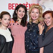 NLD/Amsterdam/20140428 - Perspresentatie cast Bedscenes, Lies Visschedijk, Loes Luca, Tjitske Reidinga, Tina de Bruin