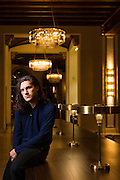Lost Solace actor Charlie Kerr poses for a portrait at The Westin San Jose in San Jose, California, on March 3, 2016. (Stan Olszewski/SOSKIphoto)