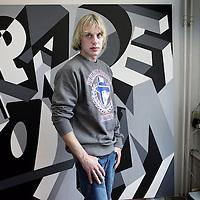 Nederland, Amsterdam , 10 juni 2010..Pieter Ceizer, ontwerper bij Pimpalicious Living.Foto:Jean-Pierre Jans
