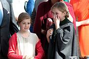 Koningsdag in Dordrecht / Kingsday in Dordrecht<br /> <br /> Op de foto / On the photo: <br /> <br />   Prinses Amalia en Prinses Alexia ///  Princess Amalia and Princes Alexia