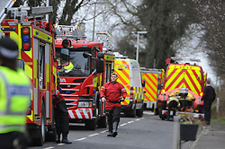 Persons trapped down mine, Charlestown<br /> <br /> Emergency services from SFRS, Scottish Ambulance, Police Scotland and Mine Rescue attended West Road, Charlestown, Fife after a report of someone trapped in old mine workings.<br /> <br /> (c) David Wardle | Edinburgh Elite media
