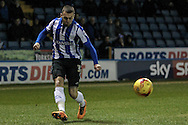 Jack Hunt (Sheffield Wednesday) during the Sky Bet Championship match between Sheffield Wednesday and Queens Park Rangers at Hillsborough, Sheffield, England on 23 February 2016. Photo by Mark P Doherty.