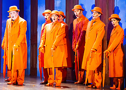 The Magic Flute <br /> Music by Mozart <br /> Welsh National Opera, Wales Millennium Centre, Cardiff, Wales, Great Britain <br /> 13th February 2019 <br /> Directed by Dominic Cooke <br /> <br /> <br /> <br /> Photograph by Elliott Franks