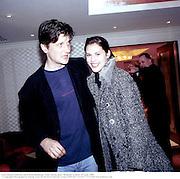 Lord Johnson Somerset and Petrina Khashoggi, Tatler Spring party. Mirabelle. London. 29 April 1998. © Copyright Photograph by Dafydd Jones 66 Stockwell Park Rd. London SW9 0DA Tel 020 7733 0108 www.dafjones.com