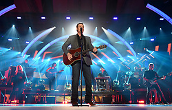 NASHVILLE, TN - JUNE 7: Blake Shelton performs on the 2017 CMT Music Awards at the Music City Center on June 7, 2017 in Nashville, Tennessee. (Photo by Frank Micelotta/PictureGroup) *** Please Use Credit from Credit Field ***
