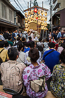 Gion Matsuri is the most famous festival in Japan taking place over the month of July. The grand procession of floats Yamaboko Junko takes place on July 17 but can be extremely crowded. On evenings preceding the procession called Yoiyama, the floats are on display with locals dressed in yukata summer kimono milling around the streets of Shijo. A second procession of floats occurs on July 24 with fewer floats but may be preferable because it is less crowded and boisterous. Yamaboko refers to two types of floats used in the parade: there are 23 yama and 10 enormous hoko reaching up to 25 meters tall. Both yama and hoko are elaborately decorated with unique themes. The festival has a long and almost uninterrupted history dating back to 869. It was once a purification ritual goryo-e to appease the gods during outbreaks of epidemics. Wherever an outbreak occurred the practice was repeated. In 970, it was decreed an annual event and has seldom been broken ever since. The Gion Matsuri has been declared an Intangible Treasure of Japan by UNESCO World Heritage.