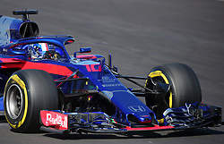 March 6, 2018 - Barcelona, Spain - the Toro Rosso of Pierre Gasly during the Formula 1 tests at the Barcelona-Catalunya Circuit, on 06th March 2018 in Barcelona, Spain.  Photo: Joan Valls/Urbanandsport /NurPhoto. (Credit Image: © Joan Valls/NurPhoto via ZUMA Press)
