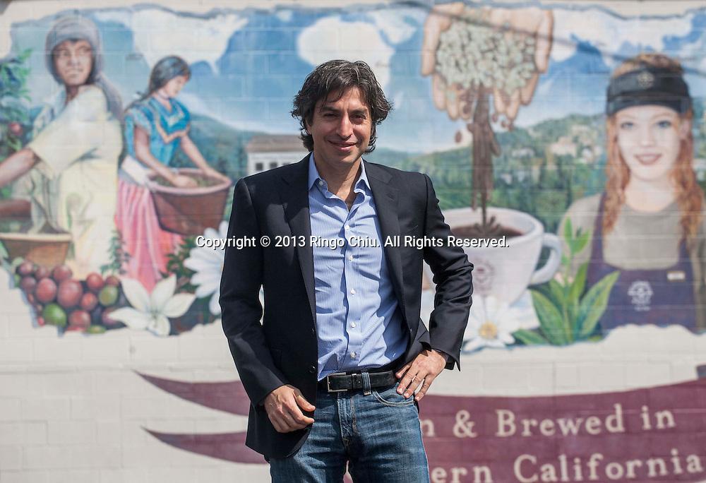 Mel Elias, CEO of Coffee Bean & Tea Leaf. (Photo by Ringo Chiu/PHOTOFORMULA.com)
