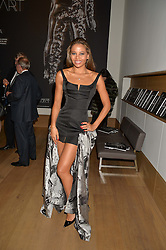 VISCOUNTESS WEYMOUTH at She Inspires Art in aid of Women for Women International's work, held at Bonham's, 101 New Bond Street, London on 16th September 2015.