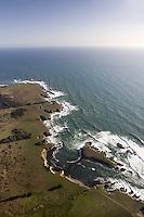 Sea Lion Rocks, Pt. Arena  looking southwest - North Coast Proposed MLPA study site