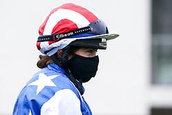 Jockey Imogen Mathias - Mandatory by-line: Robbie Stephenson/JMP - 19/08/2020 - HORSE RACING - Bath Racecourse - Bath, England - Bath Races