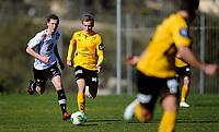 Fotball<br /> 23. Februar 2014<br /> Treningskamp<br /> La Manga<br /> Sogndal - Start<br /> Ørjan Hopen (L) , Sogndal<br /> Jon Hodnemyr (R) , Start<br /> Foto Astrid M. Nordhaug