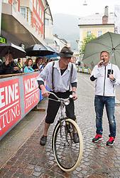 15.06.2015, Johannesplatz, Lienz, AUT, Dolomitenradrundfahrt, SuperGiroDolomiti 2015, im Bild Karl Egger (Prägraten). EXPA Pictures © 2015, PhotoCredit: EXPA/ Johann Groder