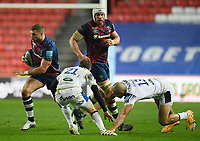 Rugby Union - 2020 / 2021 Gallagher Premiership - Bristol Bears vs Bath - Ashton Gate<br /> <br /> Bristol Bears' Henry Purdy in action during this evening's game.<br /> <br /> COLORSPORT