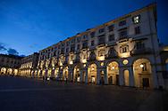 Torino, Piazza vittorio Veneto di notte