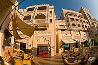 The Al Qasr Hotel, part of the Madinat Jumeirah resort complex, Dubai, United Arab Emirates