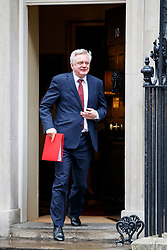© Licensed to London News Pictures. 27/06/2017. London, UK. Secretary of State for Exiting the European Union DAVID DAVIS attends a cabinet meeting in Downing Street, London on Tuesday, 27 June 2017. Photo credit: Tolga Akmen/LNP