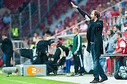 28.07.2011, Coface Arena, Mainz, GER, UEFA Europa League, Mainz 05 vs CS Gaz Metan Medias, im Bild Thomas Tuchel (Trainer Mainz) // during the GER, UEFA Europa League, Mainz 05 vs CS Gaz Metan Medias on 2011/07/28, Coface Arena, Mainz, Germany. EXPA Pictures © 2011, PhotoCredit: EXPA/ nph/  Roth       ****** out of GER / CRO  / BEL ******