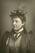 Marion Lea (1861-1944) American actress who appeared in London as Mrs Elvsted in Ibsen's ''Hedda Gabler'' in 1891.