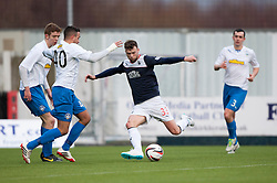 Falkirk's Rory Loy.<br /> Falkirk 1 v 1 Morton, Scottish Championship game today at The Falkirk Stadium.<br /> © Michael Schofield.