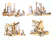 Iron Foundry. From Pyne Microcosm, London, 1809