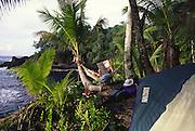 Camping, Hana Coast, maui, Hawaii<br />