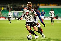 Fotball , 5. nov 2012, Tippeligaen Eliteserien , Sogndal - Vålerenga<br /> Per Egil Flo Sogndal. Tosaint Ricketts VIF<br /> Foto: Christian Blom , Digitalsport