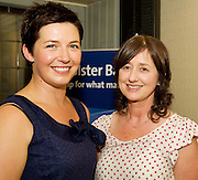 """19/7/2011. Audrey Byrne, Oughterard and Teresa Gilligan Uggooll in McSwiggans for the pre show reception of Propellors """"Comedy of Errors"""" by Shakspeare in the Galway Arts Festival, sponsored by Ulster Bank. Photo:Andrew Downes"""