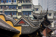 Ancient and modern architecture in Chongqing, China