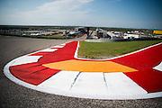 October 20, 2016: United States Grand Prix. COTA track / curb detail