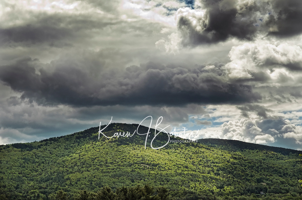 Stormy day in New Hampshire