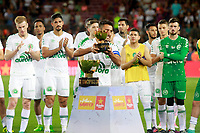 Chapecoense's surviving player of the air crash Alan Ruschel after Joan Gamper Trophy. August 7,2017. (ALTERPHOTOS/Acero)